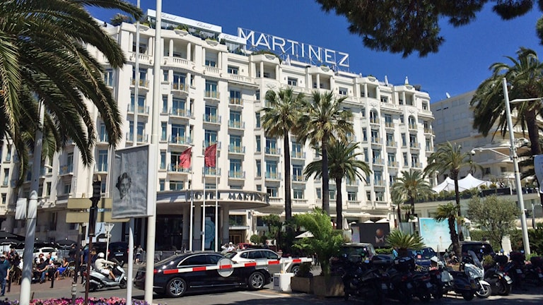 Hotell Martinez i Cannes.