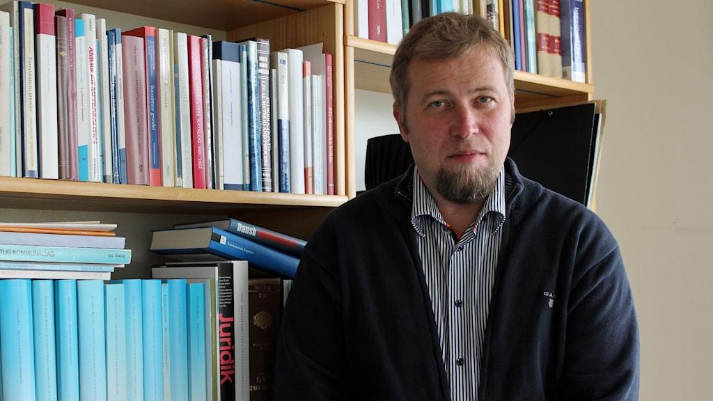 Olle Lundin, professor i förvaltningsrätt, Uppsala universitet. Foto: Kina Pohjanen/Sveriges Radio