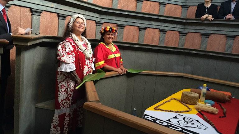 Kranier återlämnas på Museum Gustavianum. Foto: Stefan Hesserud Persson / SR