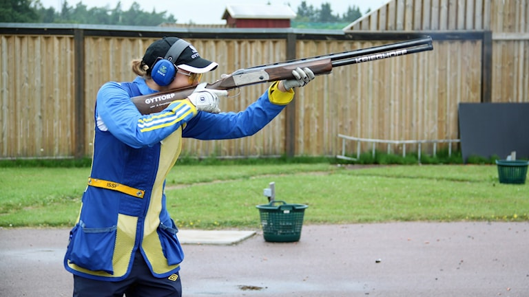 Therese Lundqvist. Foto: Sportskytteförbundet