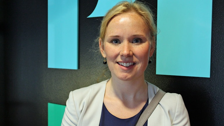 Caroline Andersson (S). Foto: Jonas Ahlman/Sveriges Radio