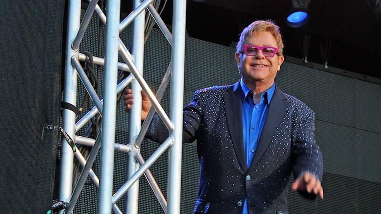 Elton John. Foto: Mattias Persson/Sveriges Radio