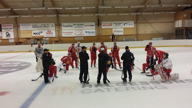 Almtuna har isgenomgång. Foto: Mattias Persson / Sveriges Radio
