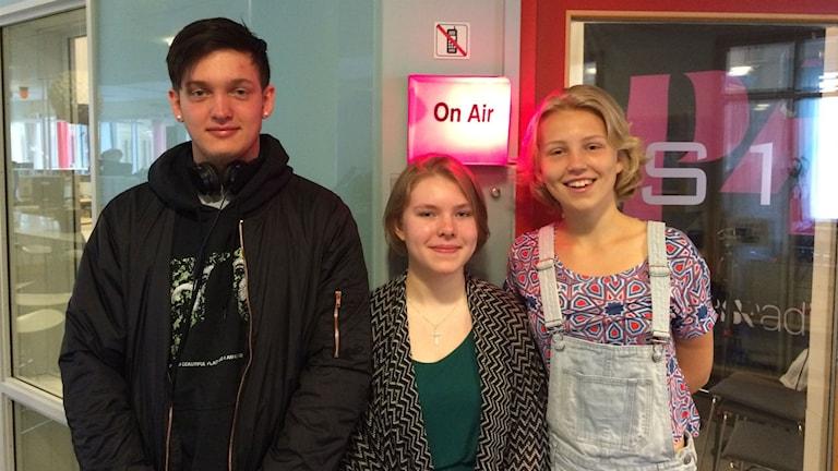 Sommarjobbare. Foto: Mattias Persson / Sveriges Radio
