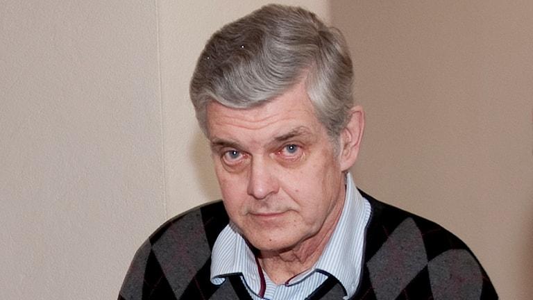 Göran Lindberg vid rättegången 2010. Foto: Jonas Ekströmer/TT