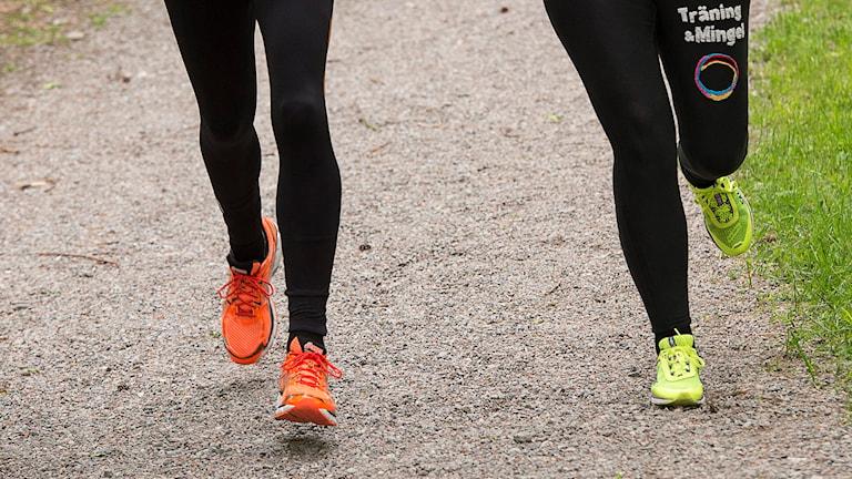 Löpare i löparspår (arkivbild). Foto: Jonas Ekströmer/TT