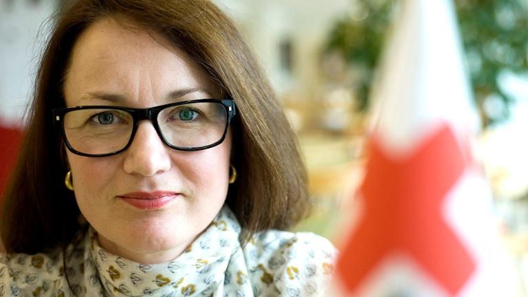 Röda korsets generalsekreterare Ulrika Årehed Kågström. Foto: Gunnar Lundmark/SvD/TT