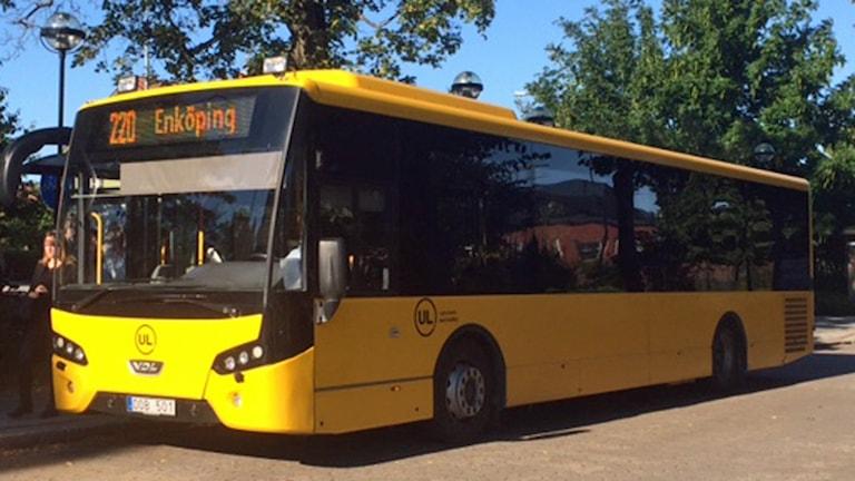 UL-buss (arkivbild). Foto: August Bergkvist/Sveriges Radio