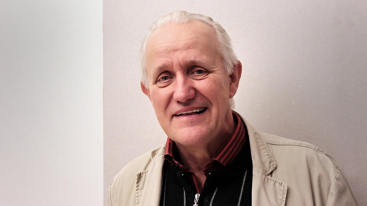Göran Engman utan fez Foto:Thomas Artäng/Sveriges Radio