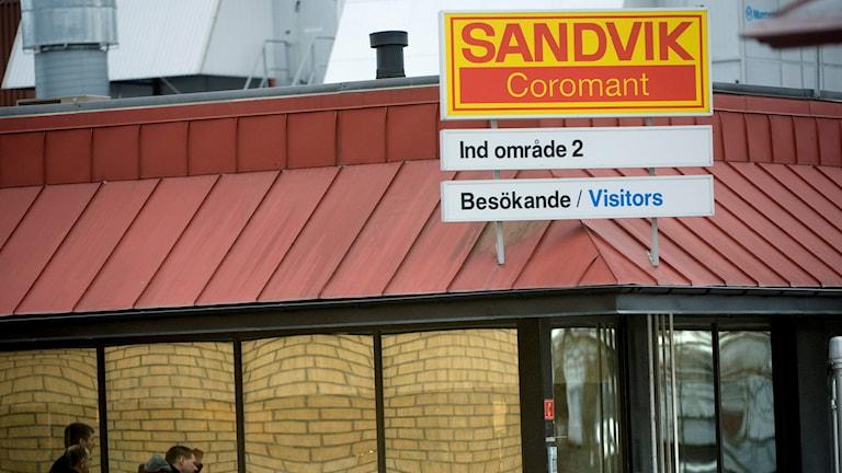 Sandvik Coromant i Gimo. Foto: Fredrik Sandberg/TT