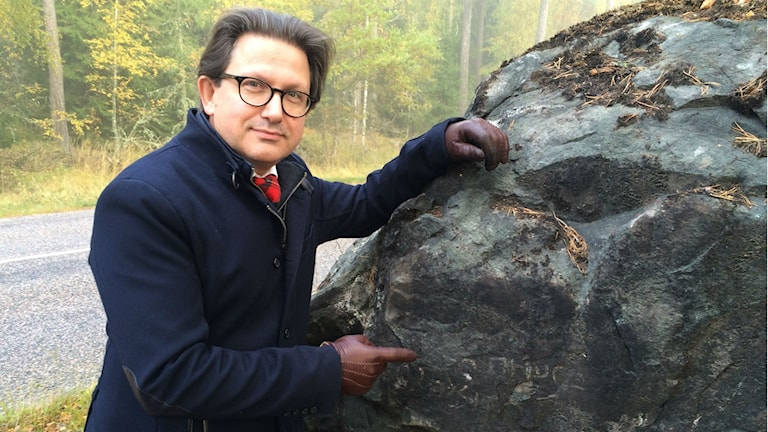 Arne Wiig, symbolforskare och religonshistoriker. Foto: Bosse Pettersson/Sveriges Radio