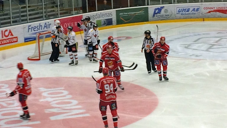 Almtuna mot Asplöven. Foto: Bosse Pettersson/Sveriges Radio