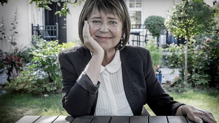 Karin Johannisson. Foto: Magnus Hjalmarson Neideman/SvD/TT