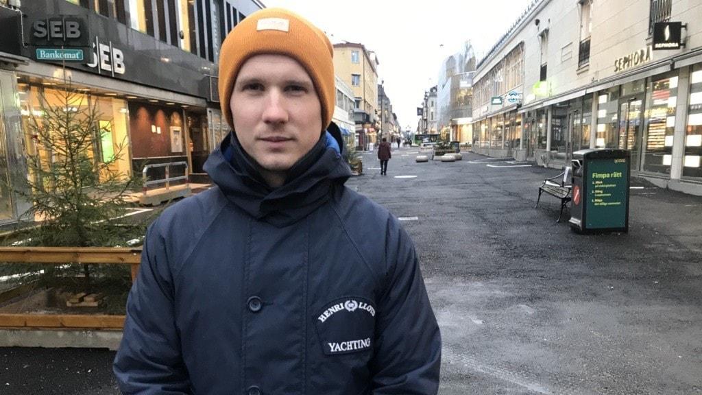 Calle Rönnbäck samordnare och medlare på Uppsala ungdomsjour.