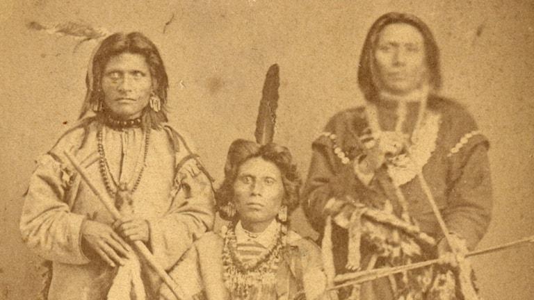 Från vänster Red Fox, White Fox och White Eagle.