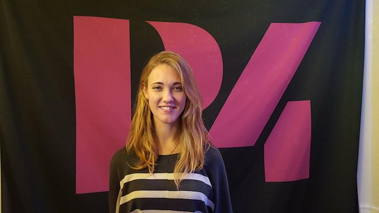Therese Lundqvist, skytte. Foto: Mattias Persson/Sveriges Radio