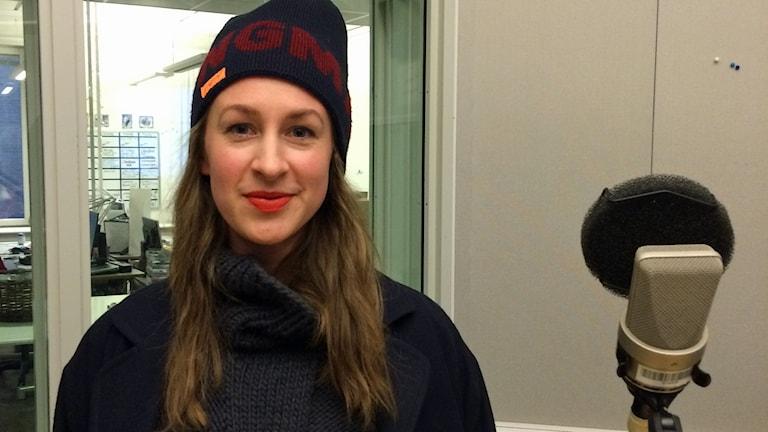 Emelie Persson Lindqvist. Foto: Tova Kurkiala Medbo/Sveriges Radio