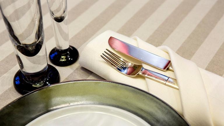 Dukat för fin middag. Foto: Christine Olsson/TT