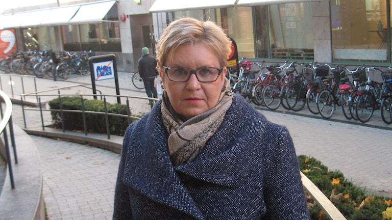 Inger K. Holmström. Foto: Mårten Nilsson/Sveriges Radio