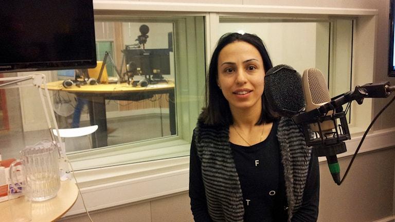 Sevana Bergström. Foto: Christer Engqvist/Sveriges Radio