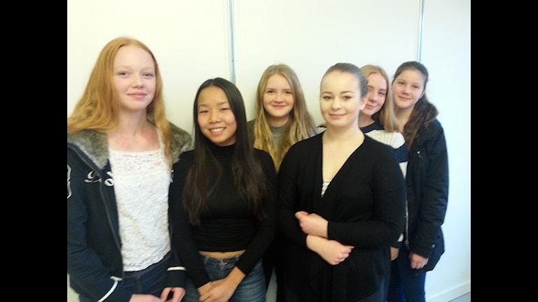En del av Olunda Ryttarförening. Foto: Per-Henrik Johansson/Sveriges Radio