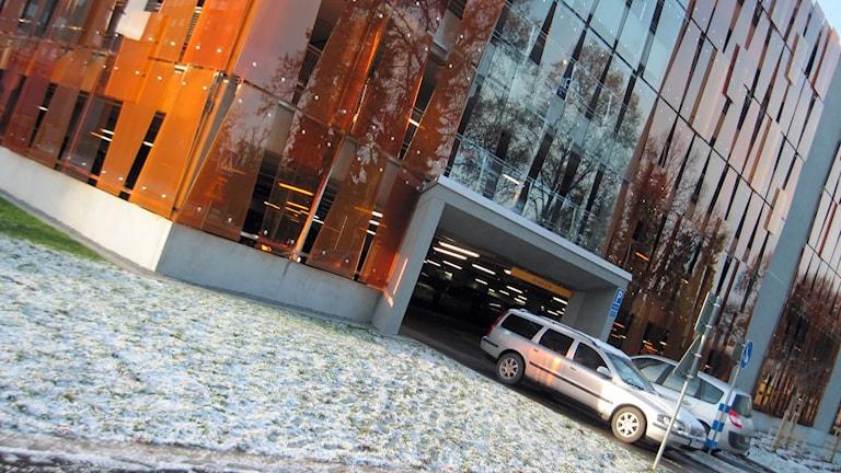Akademiskas p-garage. Foto: Mårten Nilsson/Sveriges Radio