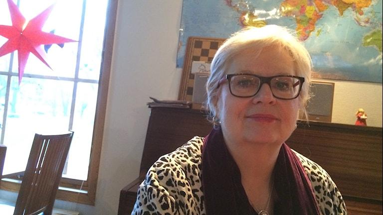 Margareta Svensson Paras, verksamhetschef Uppsala Stadsmission. Foto Stefan Hesserud Persson