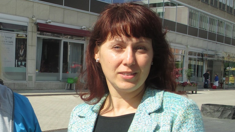 Hälso- och sjukvårdsstyrelsens ordförande Vivanne Macdisi (S). Foto: Martin Hult / Sveriges Radio