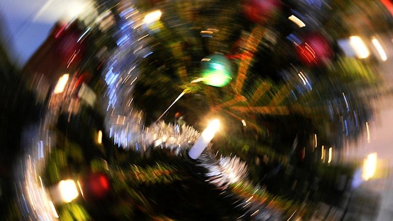 Julen kan vara stressig. Foto: Anders Wiklund/TT