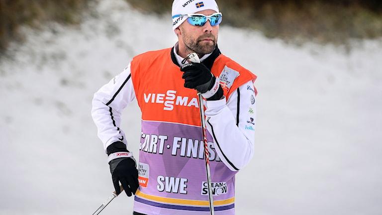 Skidornas förbundskapten Rikard Grip. Foto: Anders Wiklund/TT