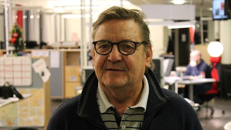 Roine är en av uppsalas många hemlösa. Foto: Nils Engvall/Sveriges Radio