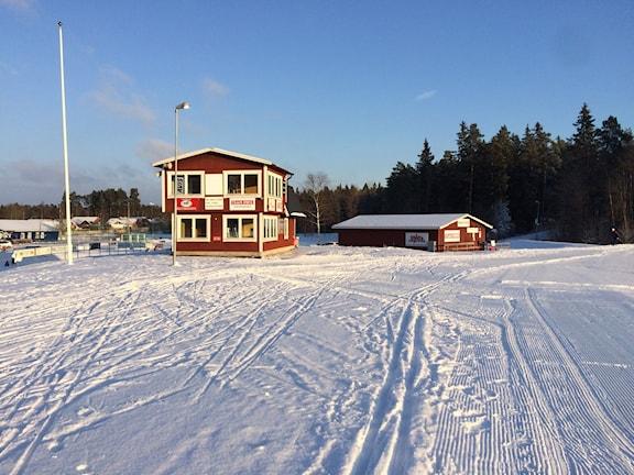 Skidspåren i Storvreta öppnas idag. Foto: Bosse Pettersson/Svergies Radio