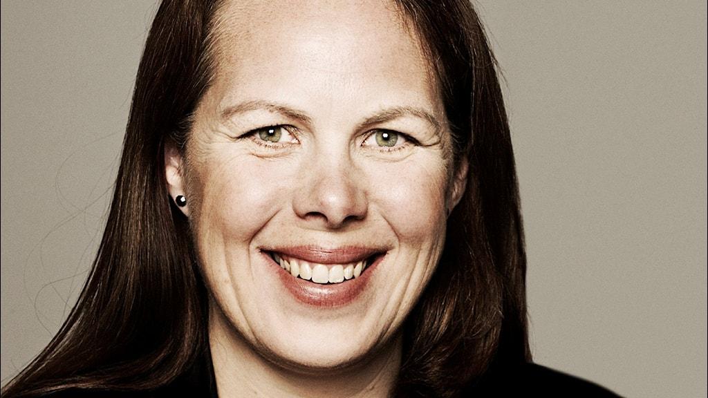 Petra Brylander, ny chef för Uppsala stadsteater. Foto: Peter Westrup