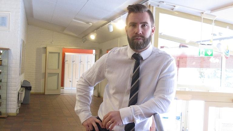 Mikael Östling, rektor Engelska skolan i Uppsala.