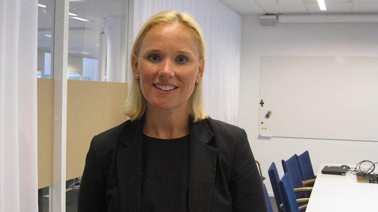Caroline Andersson, Socialdemokratiskt kommunalråd i Uppsala.