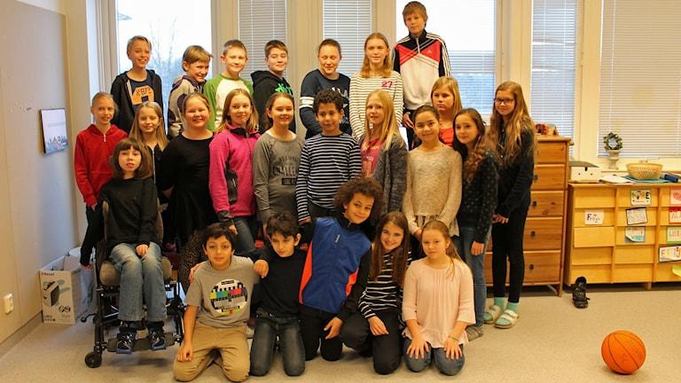 Vi i femman Uppland 2016 Valsätraskolan 5C
