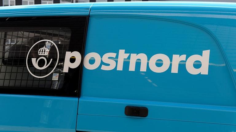 Postbil från Postnord. Foto: Bertil Ericson/TT.