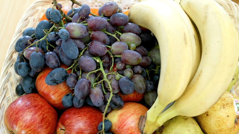 Fruktkorg. Foto: Bertil Ericson / Scanpix