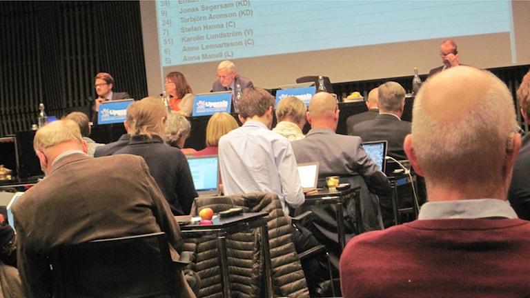 Skoldebatt i Uppsala. Foto Mårten Nilsson.