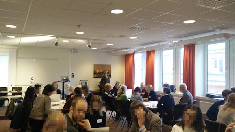 Medborgardialog i Uppsala. Foto Alexander Weimar / SR
