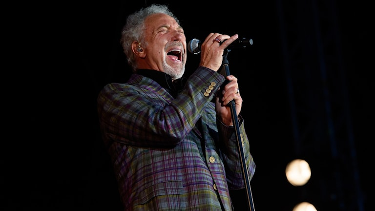 Sångaren Tom Jones Foto: Jonathan Short/AP/TT