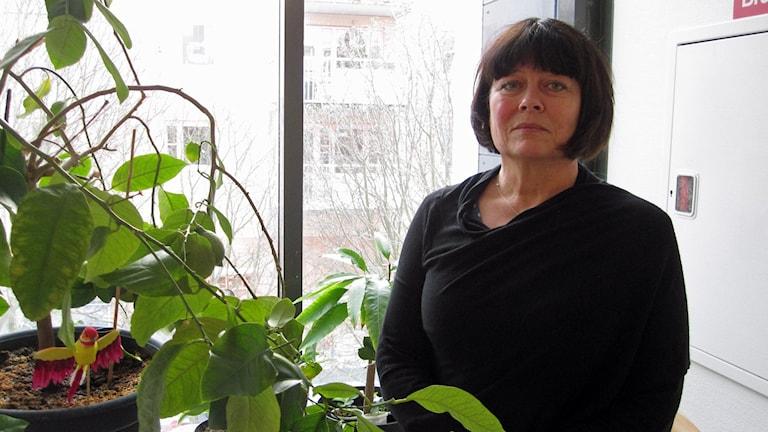 Åsa Carlsson, avdelningschef socialförvaltningen Uppsala kommun. Foto Martin Hult /SR