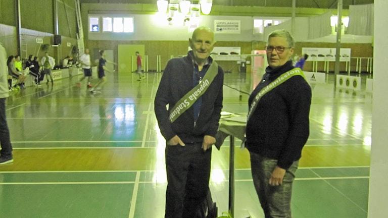 Badmintontävling Fyrisfjädern. Foto Martin Hult