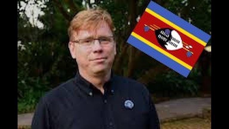 Mats Målqvist i Swaziland. Foto: Privat