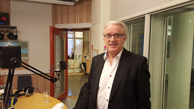 Fred Nyberg, beroendeforskare. Foto: Mattias Persson/Sveriges Radio