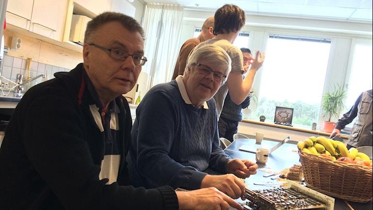 Mats André och Bengt Holback