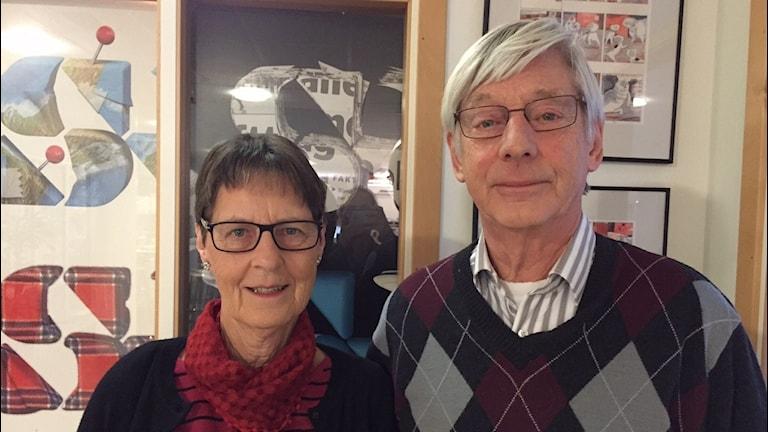 Kursansvarige Tone och Lars Göran Carlsson