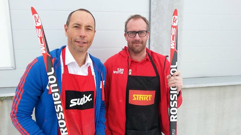 Vasaloppsveckan drar igång strax. Patrik Ingesson och Thomas Landberg utmanar varandra i bästa vallan.