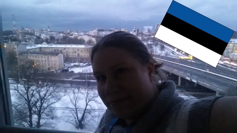 Maria Martinsson i Estland. Foto: Privat