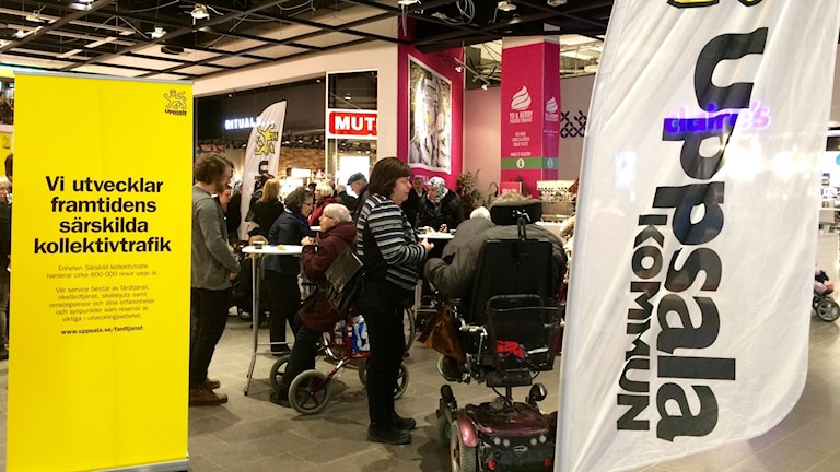 Medborgardialog i Gränby centrum.